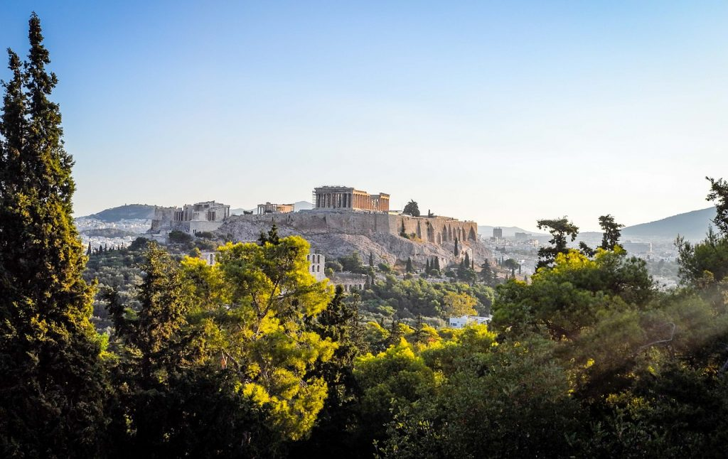 טבע באתונה