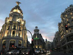 שעות הערב במדריד
