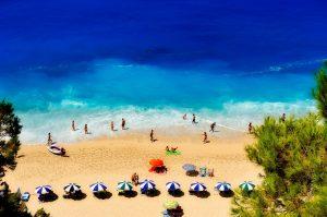 חוף ים מושלם ביוון