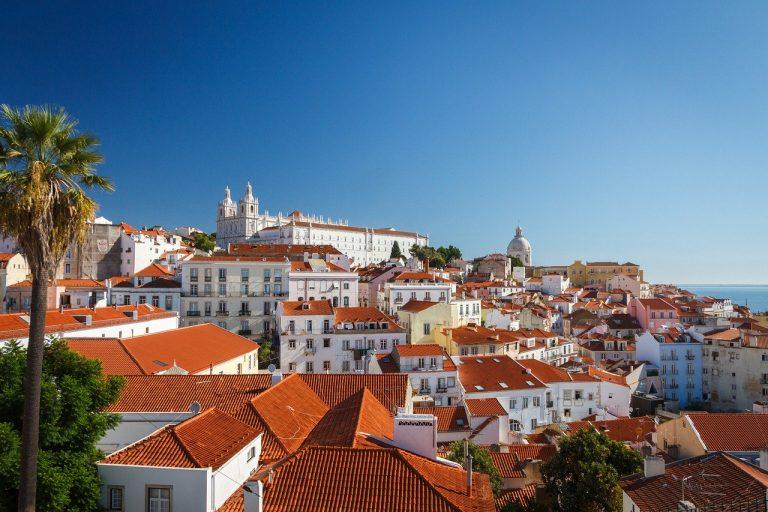 גגות של בתים בפורטוגל