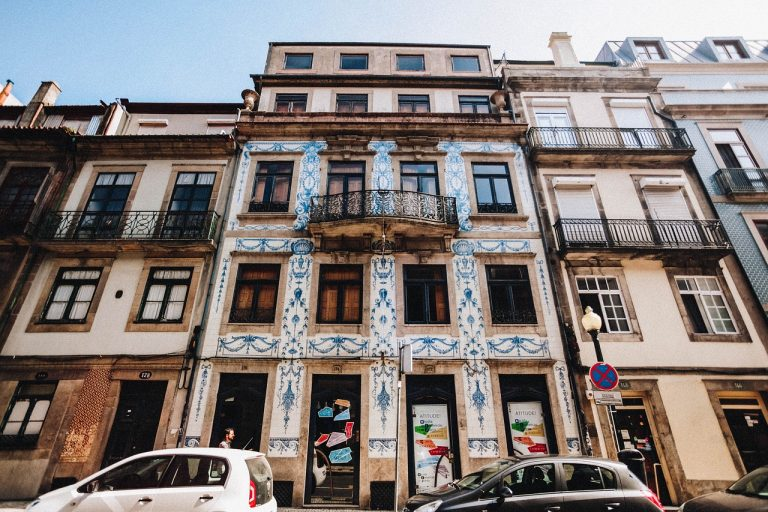 בניין ישן בפורטוגל
