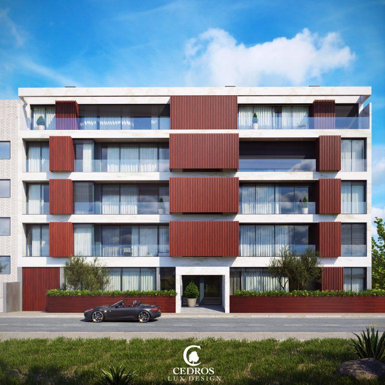 בניין דירות באירופה