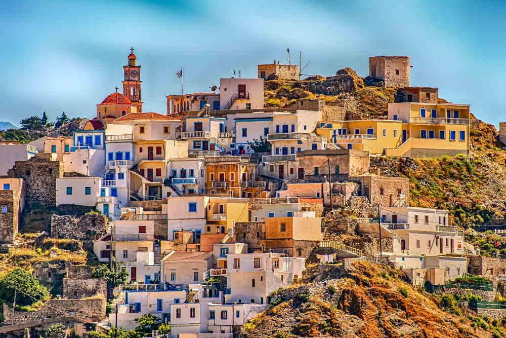 בניינים ביוון